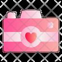 Camera Love Romance Icon