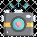 Camera Love Love And Romance Icon