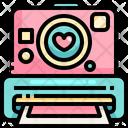 Wedding Camera Camera Heart Icon
