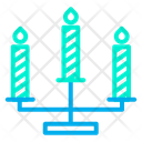 Candle Candle Stand Fire Icon