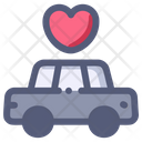 Car Love Limousine Icon