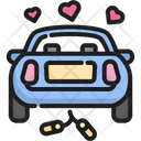 Car Wedding Marriage Icon