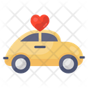 Wedding Car Wedding Transport Just Married Icon