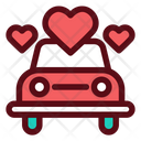 Wedding Car Icon