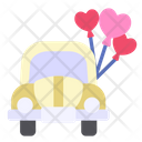 Wedding Car Car Wedding Icon