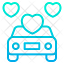 Car Vehicle Love Icon