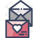Envelopes Invitation Heart Icon