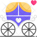 Wedding Carriage Marriage Carriage Wedding Icon