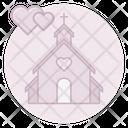 Wedding Chapel Wedding Chapel Icon