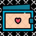Wallet Love Romance Icon
