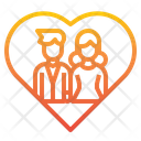Love Wedding Valentine Icon