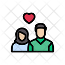 Wedding Romance Couple Icon