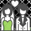 Wedding Couple Marriage Couple Wedding Icon