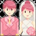 Wedding Couple Love Couple Icon