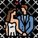 Wedding Couple Engagement Couple Wedding Icon