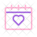 Wedding Date Love Icon