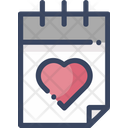 Calendar Wedding Date Icon