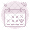Wedding Date Wedding Date Icon