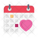 Calendar Date Wedding Icon