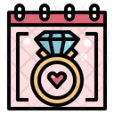 Wedding Day Proposal Icon