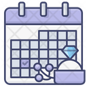 Day Date Anniversary Icon