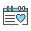 Wedding Calendar Wedding Day Wedding Icon