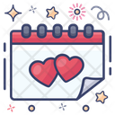 Wedding Day Appointment Calendar Icon