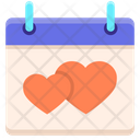 Wedding Day Wedding Date Anniversary Date Icon