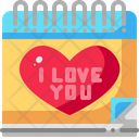 Wedding Day Calendar Date Icon