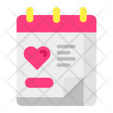 Wedding Day Calendar Wedding Icon