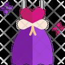 M Wedding Dress Icon