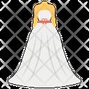 Wedding Dress Bridal Dress Bridesmaid Dress Icon