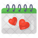 Love Event Love Calendar Wedding Event Icon