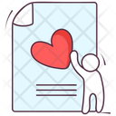 Wedding File Love File Wedding Document Icon