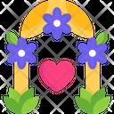 Wedding Gate Wedding Enternce Marriage Gate Icon