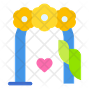 Wedding Gate Curtain Stage Icon