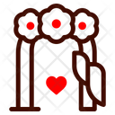 Curtain Stage Heart Icon