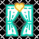 Wedding Gate Arch Gate Icon