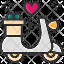 M Vespa Wedding Gift Valentine Gift Icon