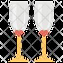 Wedding Glass Icon
