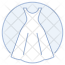 Wedding Gown Wedding Dress Party Wear Icon