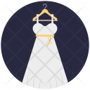 Wedding Gown Party Icon