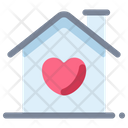 Wedding Marriage Home Icon