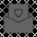 Wedding Invitation Love Icon