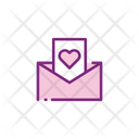 Wedding Invitation Love Letter Message Icon