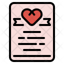 Card Wedding Marriage Icon