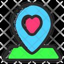 Wedding Location Location Map Icon