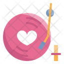 Music Song Heart Icon