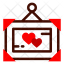 Frame Heart Picture Icon