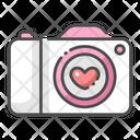 Wedding Photography Camera Wedding Memory Icon